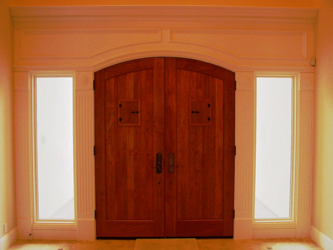 Custom interior millwork by smith brothers finish for Custom windows and doors
