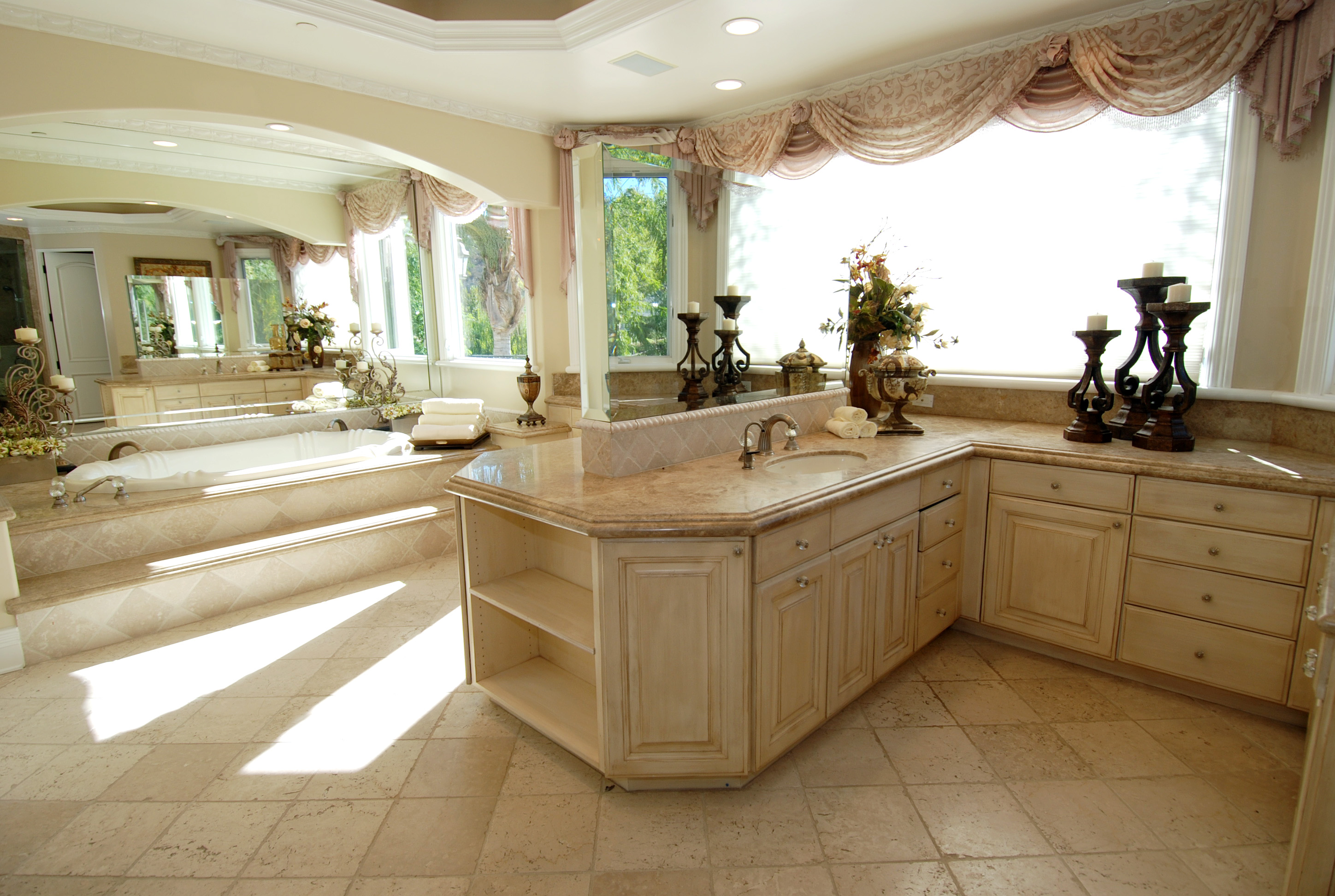 Mediterranean Manor Luxury Home Finish Carpentry Project